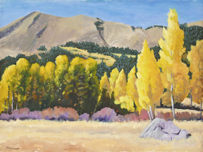 Aspen Glow Hope Valley  by Terry Lockman