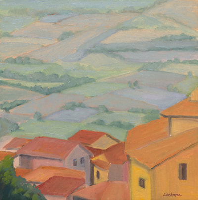 Below Cortona by Terry Lockman