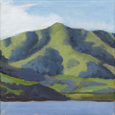 Black Mountain Above Nicasio by Terry Lockman