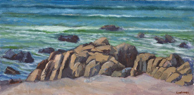 Cambria Coast II by Terry Lockman