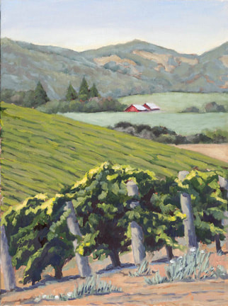 Carneros Morning by Terry Lockman