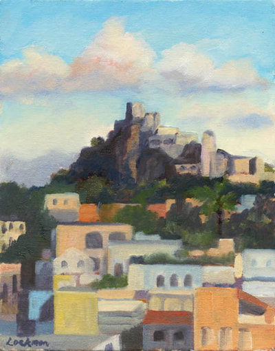 Castello Aragona, Ischia by Terry Lockman