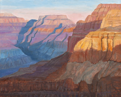 Evening Spirit over the Grand Canyon by Terry Lockman