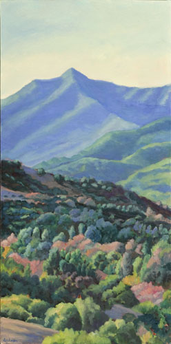Fall Light, Mt. Tam by Terry Lockman