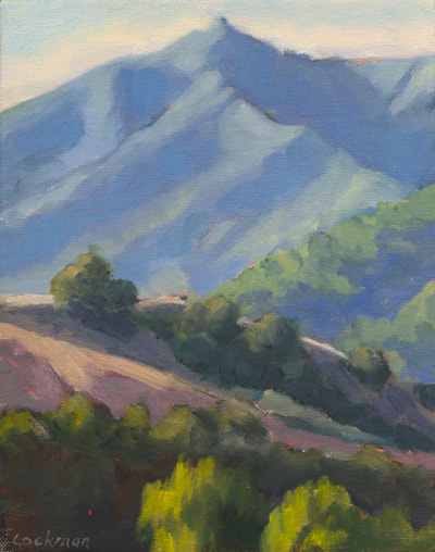 Fall Morning, Mt. Tam II by Terry Lockman