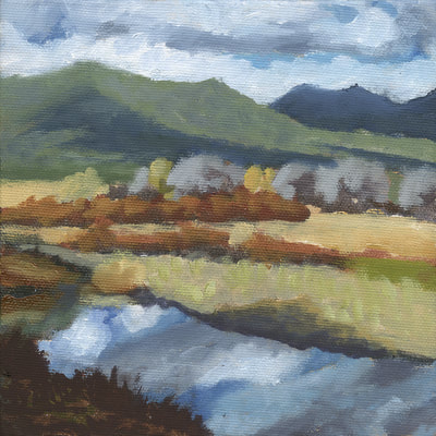 Fall Reflections, Hope Valley II by Terry Lockman