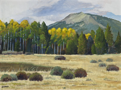 Fall Afternoon Hope Valley  by Terry Lockman