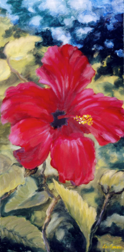 Hibiscus III by Terry Lockman