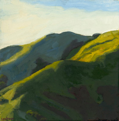 Last Light on the Hills by Terry Lockman