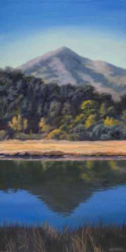 Midday at Corte Madera Creek by Terry Lockman