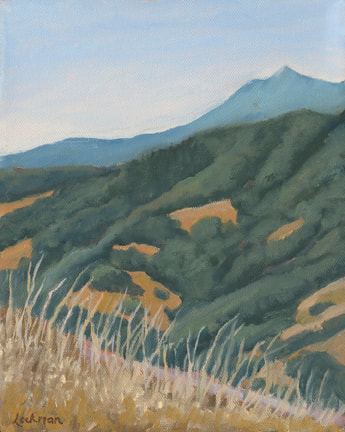 Mt. Tam from Lucas Ridge by Terry Lockman