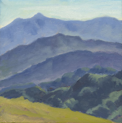 Mt. Tam from Sleepy Hollow Divide II by Terry Lockman