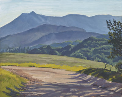 Mt. Tam from Sleepy Hollow Divide by Terry Lockman