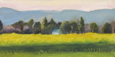 Mustard South of Sonoma II by Terry Lockman