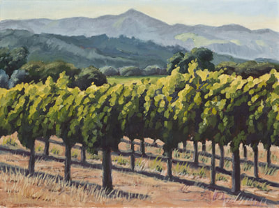 Napa Afternoon by Terry Lockman