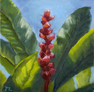 Red Ginger by Terry Lockman