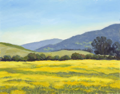 Sonoma Mustard by Terry Lockman