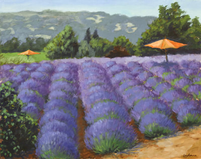 Spring Lavendar by Terry Lockman