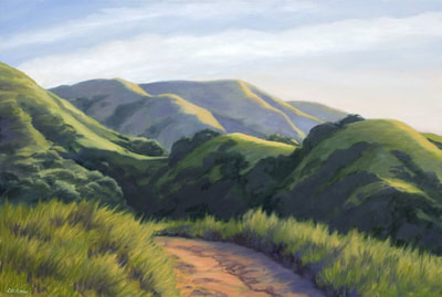 Spring Morning, Lucas Valley by Terry Lockman