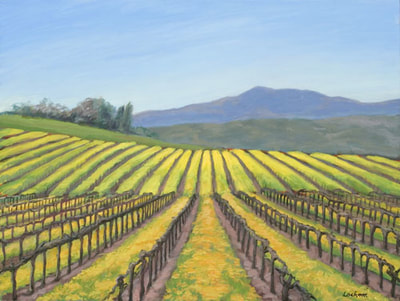 Spring, Mount Vineyard by Terry Lockman