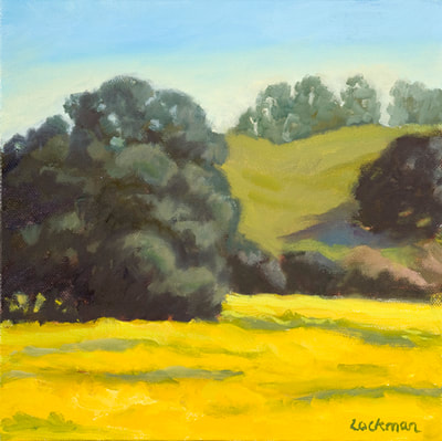 Spring Mustard by Terry Lockman