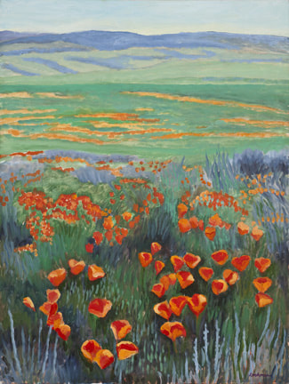 Spring Poppies by Terry Lockman