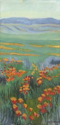 Spring Poppies II by Terry Lockman