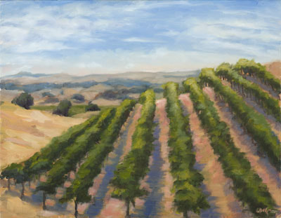 Still Waters Vineyard, Paso Robles by Terry Lockman