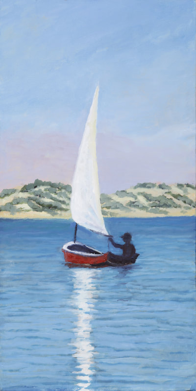 Summer Sail, Morro Bay by Terry Lockman