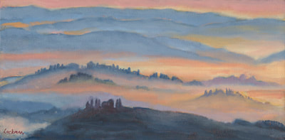 Tuscan Sunrise by Terry Lockman