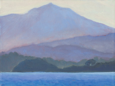 Winter Morning, Mt. Tam by Terry Lockman