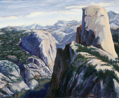 Yosemite Valley from Glacier Point by Terry Lockman